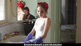 ExxxtraSmall – Petite Maid Gets Fucked For Money
