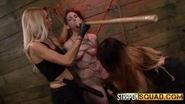 Sex Slave Is Tied Up In The Basement