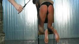 She Will Be Taught A Lesson With The Whip