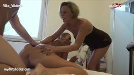MyDirtyHobby – Milf wife caught him cheating and went with it