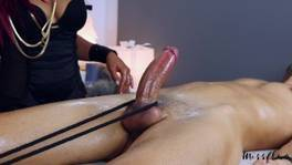 MissFluo – Best Massage with happy ending to throbbing oral creampie shot